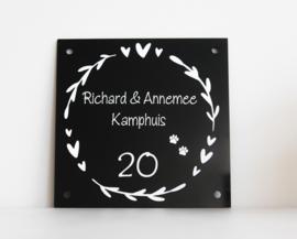 Naambordje 'Richard'