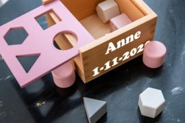 Blokkendoos Roze