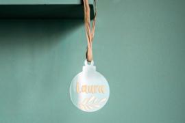 'Kerstbal' met decoratie