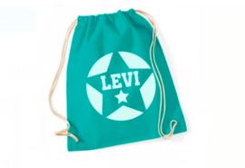 Katoenen rugzak met naam | Levi