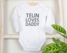 Teun loves daddy