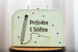 Koffer Potloden & Stiften