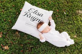 Geboortekussen 'Elisa'