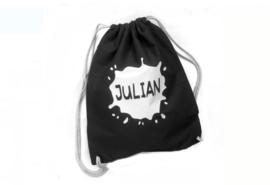 Katoenen rugzak met naam | Julian