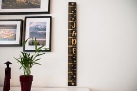 Houten groeimeter 'Jade'