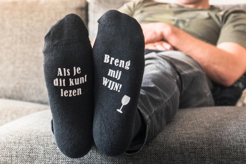 Sokken Bier of Wijn