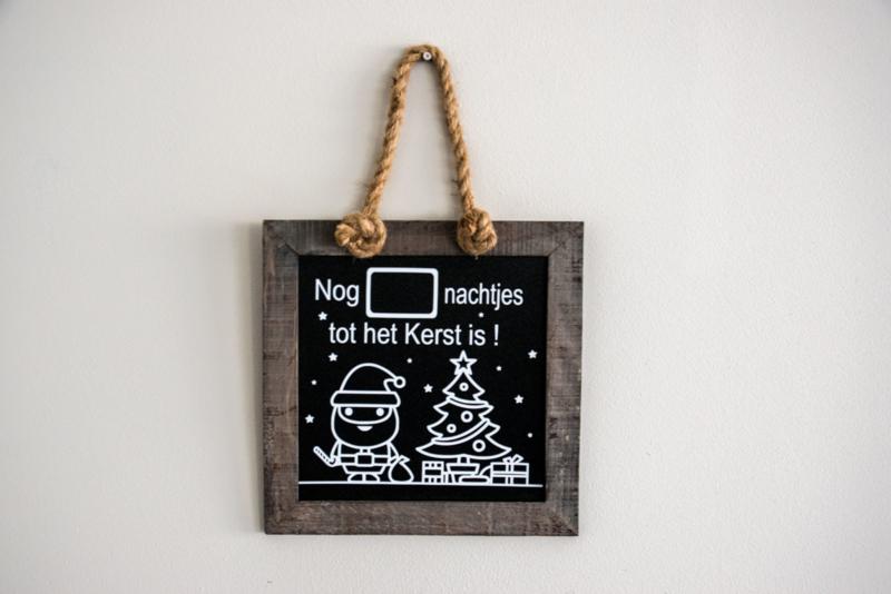 Kerst aftelbord