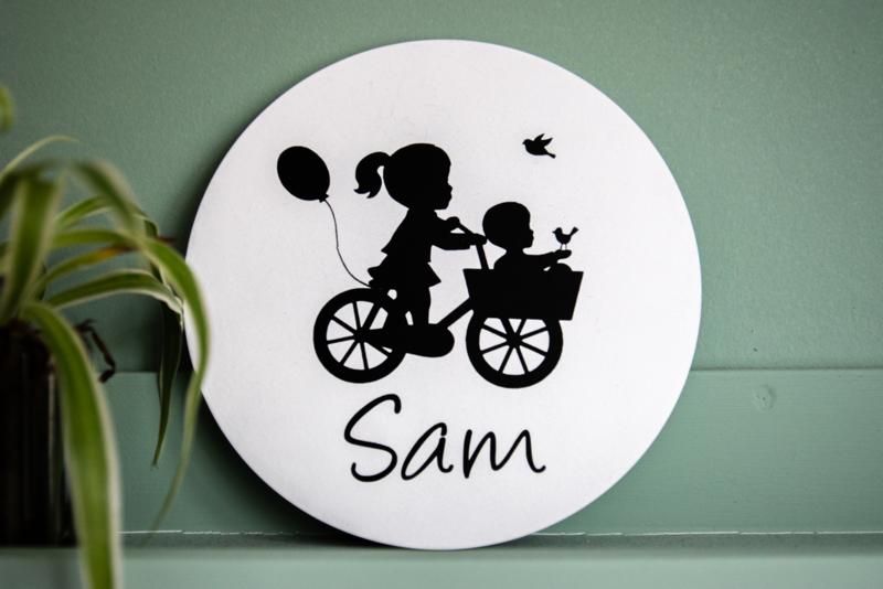 Muurcirkel - Geboorte Sam