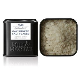Oak Smoked Salt Flakes 80gr. - BIO