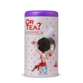 La Vie en Rose - Zwarte thee met roos