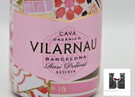 Cava Villarnau - bio - brut reserva rosada