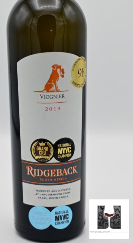 Ridgeback - Viognier