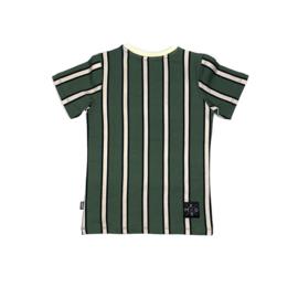 KMDB - T-shirt - Stripe Khaki