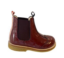 Angulus - Chelsea Boot Red Rainbow