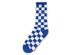 Vans checkerboard Crew boys Maat 1-6  Victoria blauw