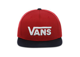 Vans Drop VII snapback Boys Chili peppers/Dress blues