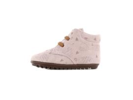 Shoesme Babyproof sneakers rose met hartjes