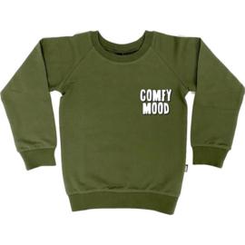 Kmdb - Sweater Echo Comfy mood - Khaki