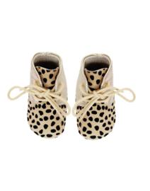 Moons Ava Booties – Gold Cheetah