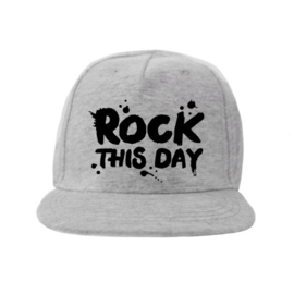 "Van Pauline Pet ""Rock this day"" grijs"