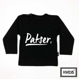 KMDB Sweater Patser Zwart/wit