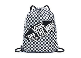 Vans Benched bag zwart/wit checkerboard