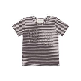 Little Indians T-shirt Hotel Motel brown stripe