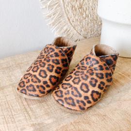 Babydutch slofje Luipaard