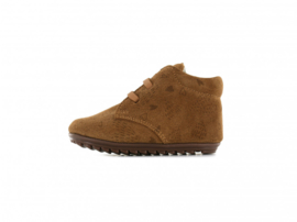 Shoesme Babyproof sneakers Light brown hartjes
