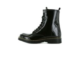 Shoesme - Bikerboots - Shiny black