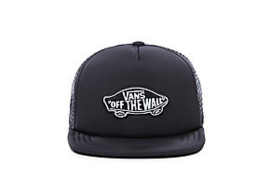 Vans Classic patch trucker boys Zwart