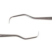 Curettes 1/2 Anterior Labial/Patatal/Lingual /st