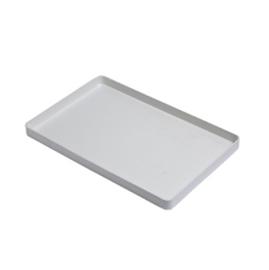 Plastic Tray zonder Instrumentenvork Wit /st