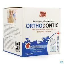 Fittydent - Othodondische reinigingsset PLUS 32 tabletten à 70g