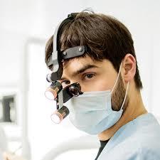 Dr Kim - Hoofdset (lamp incl) + bril