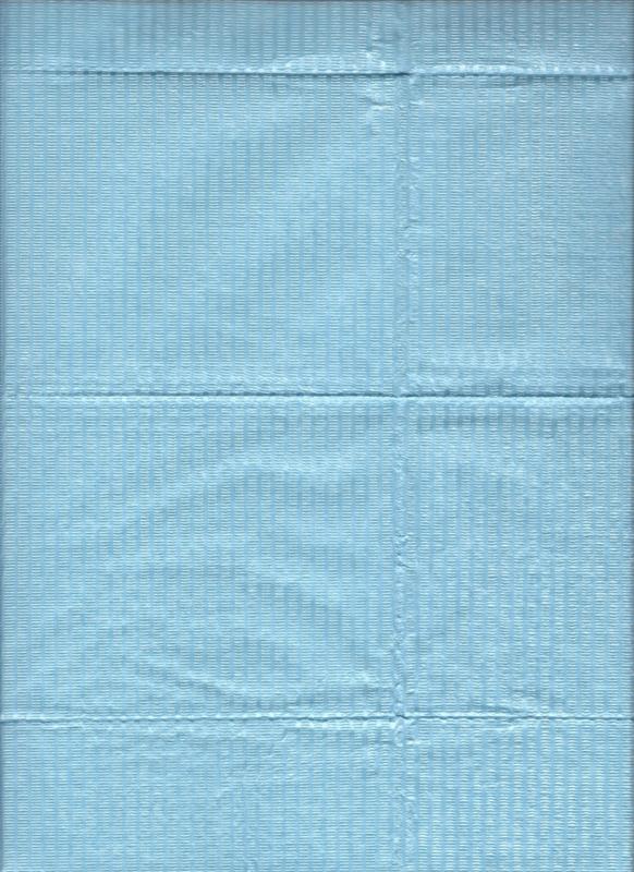 Dental doekjes 3-lagen Blauw Perfection Plus /50st Blauw
