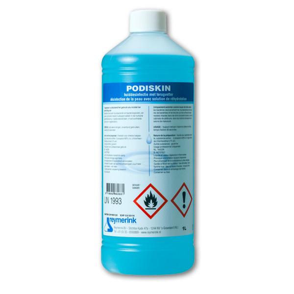 Alcohol 60% /2-propanol 60%/ chloorhexidine 0,1%, 1L