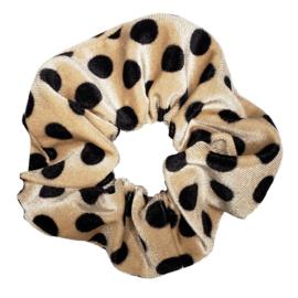 Untamed Large Velvet Scrunchie (Leopard)