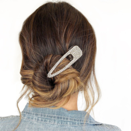 Moonstruck - Metal Hair Clip (Silver)