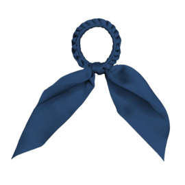 Darling - Short Tail Silk Scrunchie (Royal)