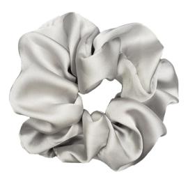 Luxe Plush Scrunchie (Stone)