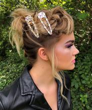 Dazzle - metal hairclip