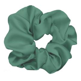 Luxe Plush Scrunchie (Pine)