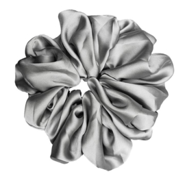 "Luxe ""Oversized"" Plush Scrunchie (Iced)"