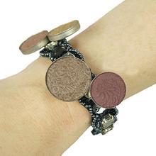 Buigzame magneetarmband voor schuifspeldjes - (Black)