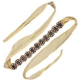 Lillian - Ribbon Head Wrap / Belt (White Label)