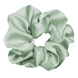 Luxe Plush Scrunchie (Spearmint)