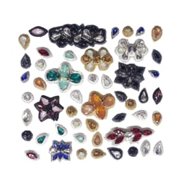 Hair Confetti Pack - Bandless, Clipless Jewels (Set of 50)