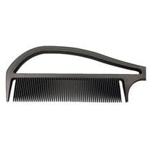 """Never Let Go"" Carbon Fibre Color and Styling Comb (Black)"