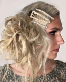 Theodora - Metal Hair Clip (Gold)
